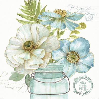 My Greenhouse Bouquet II Art Print