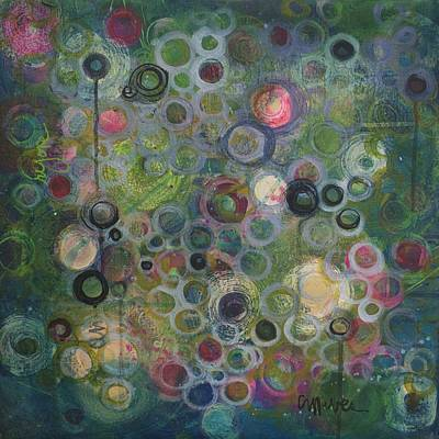 Painting - My Heart Sings Circles by Laurie Maves ART