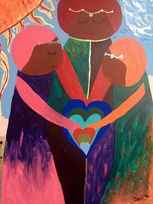 Painting - My Hearts by Clarissa Burton