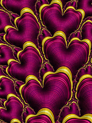 Digital Art - My Hearts Desire by HH Photography of Florida