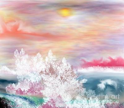 My Heaven Art Print by Lori  Lovetere