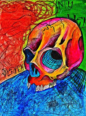 My Hell  Print by Ryno Worm  Tattoos