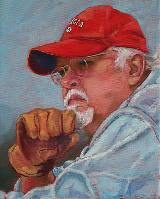 Painting - My Hero by Carol Jo Smidt
