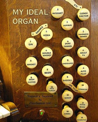 Photograph - My Ideal Organ by Jenny Setchell