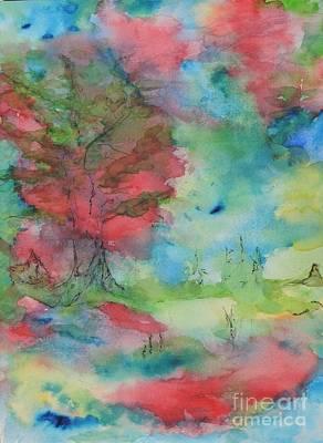 Painting - My January by Laura Hamill