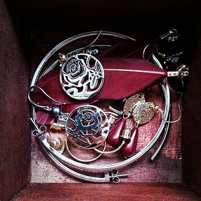 Jewelry Photograph - My Jewelry Box #jewelry #shanghai #love by C C