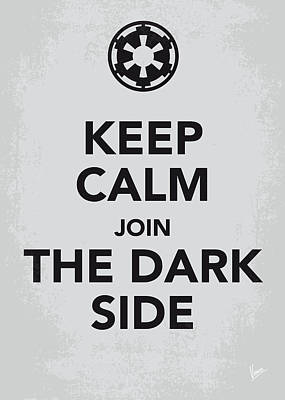 My Keep Calm Star Wars - Galactic Empire-poster Art Print