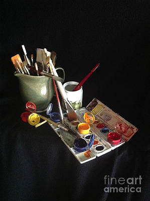 Photograph - My Limited Palette by Nan Wright