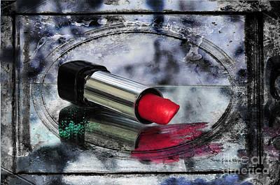 Photograph - My Lips Are Red by Randi Grace Nilsberg