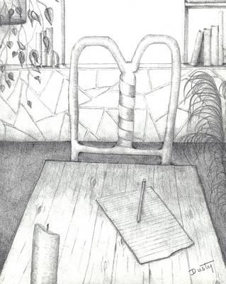 My Loft Art Print by Dusty Reed