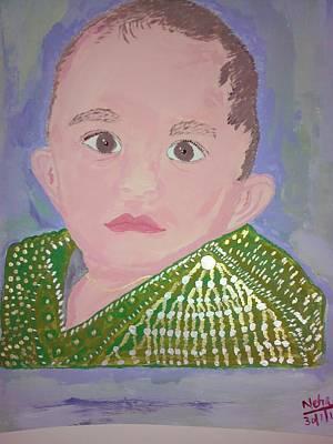 Neha Shah Painting - My Lovely Son by Neha  Shah