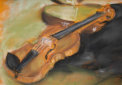 My Lttle Violin Art Print