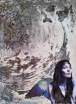 Watercolor With Pen Mixed Media - My Manic And I by Megan Henrich