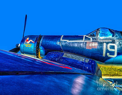 Photograph - My Marines Dream -f4u Corsair by Nick Zelinsky