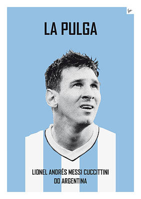 My Messi Soccer Legend Poster Art Print