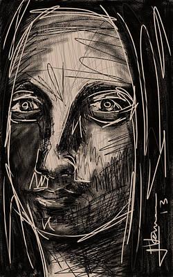 Digital Art - My Mona Lisa by Jim Vance