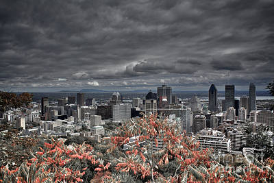 My Montreal's Colors Art Print