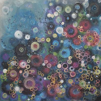 Painting - My Most Favorite Circles by Laurie Maves ART