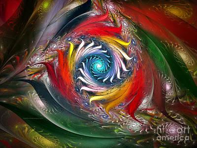 My My Beautiful Laundrette-fractal Art Art Print