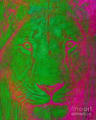 Photograph - My Mystical Lion by Mindy Bench