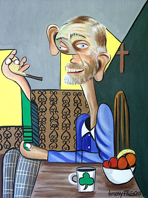 Painting - My Neighbor Joe by Anthony Falbo