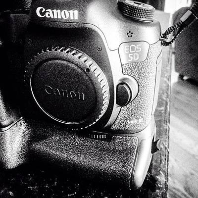 Monochrome Photograph - Canon 5d Mark IIi by Scott Pellegrin