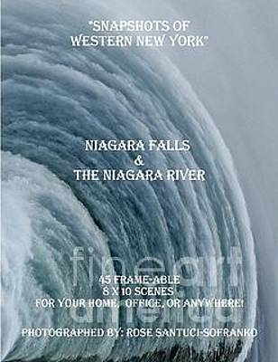 Photograph - My Niagara Falls And Niagara River Book by Rose Santuci-Sofranko
