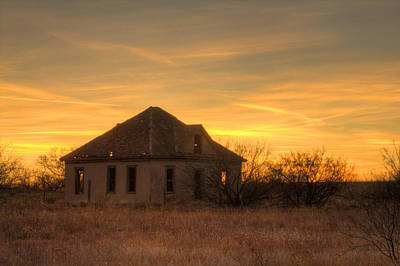 Photograph - My Ole Texas Home by Nicholas Evans