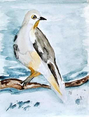 Wrap Digital Art - My Painted Bird by Marsha Heiken