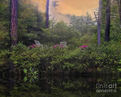 My Peaceful Place Art Print by Brenda Giasson