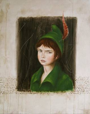 Painting - My Peter Pan by Junko Van Norman