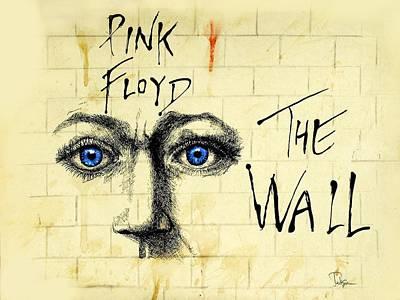 Pink Floyd The Wall Art my pink floyd wall drawingtodd spaur