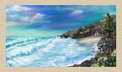 My Private Ocean Art Print