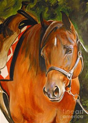 My Quarter Horse Art Print