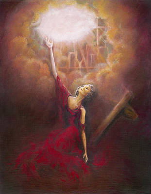 Painting - My Salvation  by Stephanie Broker