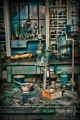 Steampunk Royalty-Free and Rights-Managed Images - My Science Lab by Paul Ward