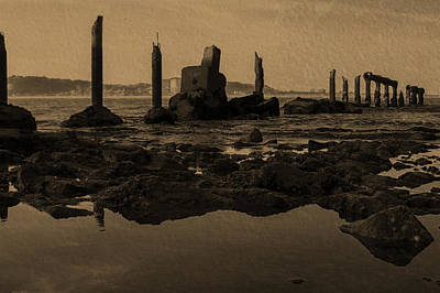 My Textures Photograph - My Sea Of Ruins IIi by Marco Oliveira
