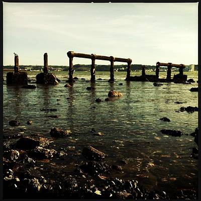 My Ocean Photograph - My Sea Of Ruins by Marco Oliveira