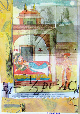 Mixed Media - My Secret India by Linda Novick