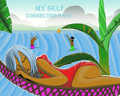 My Self Illustration 3 Original