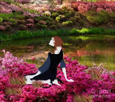 Painting - My Serenity by Belinda Threeths
