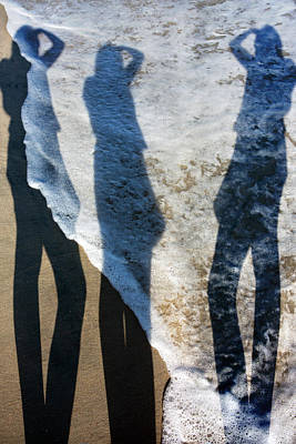 Topsail Island Photograph - My Shadow Follows Me by Betsy Knapp