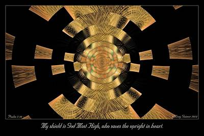 Digital Art - My Shield by Missy Gainer