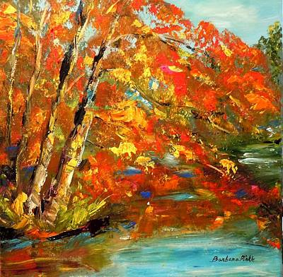 My Side Of The River Art Print by Barbara Pirkle