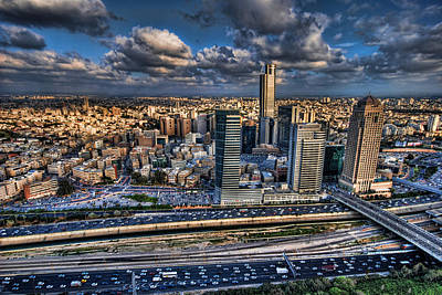 Jerusalem Photograph - My Sim City by Ron Shoshani