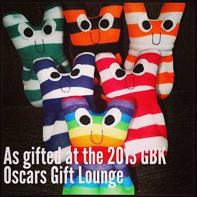 Oscars Wall Art - Photograph - My #sock #aliens Are In #beverleyhills by Emma  Maudsley