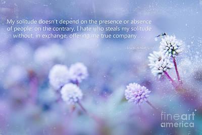Photograph - My Solitude by Sharon Mau
