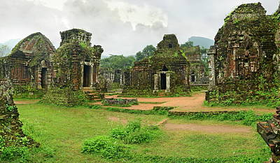 Photograph - My Son Group Of Temples, Unesco World by Luca Tettoni / Robertharding