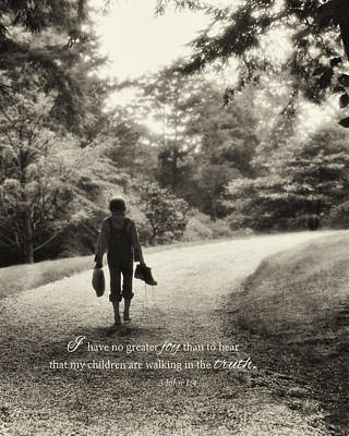 Photograph - My Son's Walk by June Jacobsen