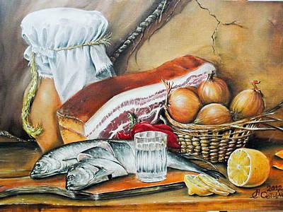 Painting - My Still Life by Sergey Selivanov